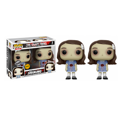 POP! Movies The Shining The Grady Twins Limited Chase 2 Pack Vinyl Figures