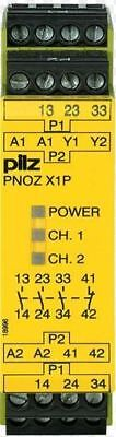 Pilz Safety relay PNOZ X1P 777100  3n/o 1n/c 24VDC