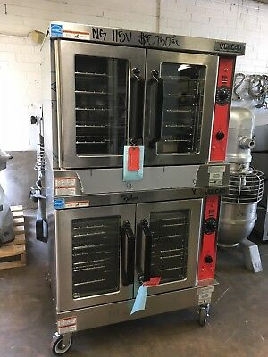 Vulcan VC4GD Double Stack Full Size Natural Gas Convection Ovens – Never Used
