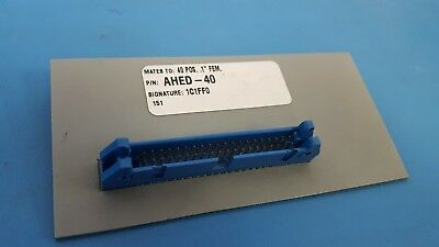 """CIRRIS SYSTEMS, AHED-40, 40 Position 1"""" FEM, 1C1FF0, Without Lever"""