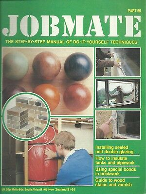 JOBMATE 56 DIY DOUBLE GLAZING, INSULATE, WOOD STAINS etc
