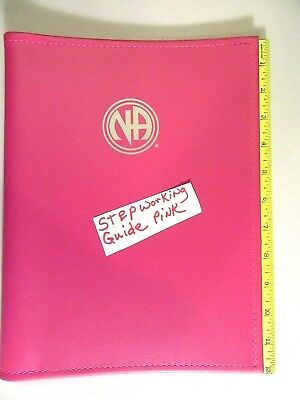 Narcotics Anonymous NA Step Working Guide COVER PINK