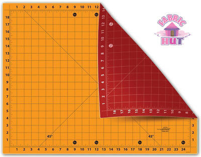 "Sullivan's The Cutting Edge 18"" x 24"" Self Healing Reversible Cutting Mat"