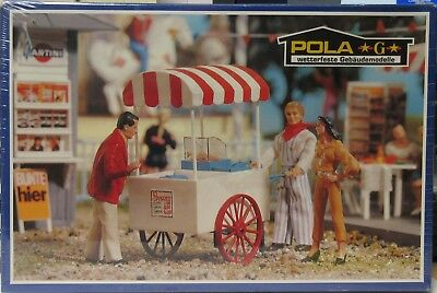 POLA/LGB 1874 Popcorn Van/Vendor -SEALED- NOS