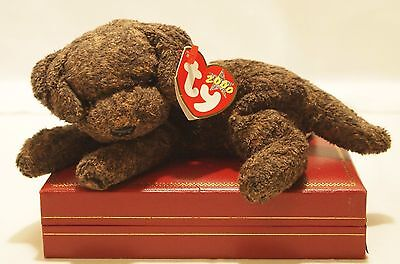 Ty Beanie Baby Fetcher the Dog ~ MWMT ~ 2000 ~ Mint w/ Mint Tags ~ Retired