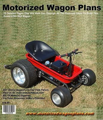 Motorized Wagon Gokart Plans