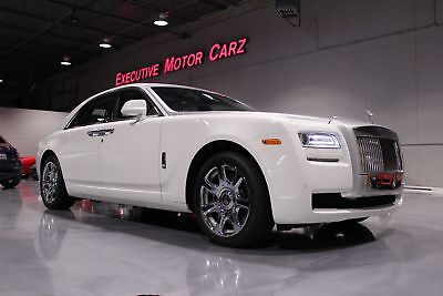 Rolls-Royce Ghost GHOST 2014 White/WHITE, 1 OWNER, 11K MILES, $322 MSRP