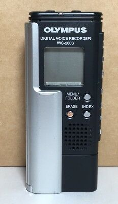 Olympus WS-200S 128 MB 56 Hours USB Handheld Digital Voice Recorder Dictaphone