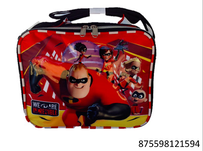 6ded8e3db73 DISNEY INCREDIBLES 2- Insulated Lunch Bag-1594 -  13.99