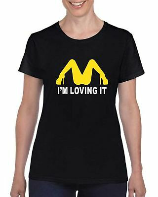 e53ebbe13a McDonald's T Shirt I m Loving It Funny Offensive Stag Party Gift Unisex  Tshirt