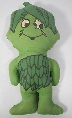 Vintage Jolly Green Giant Little Sprout Plush Stuffed Advertising Doll Toy 13""