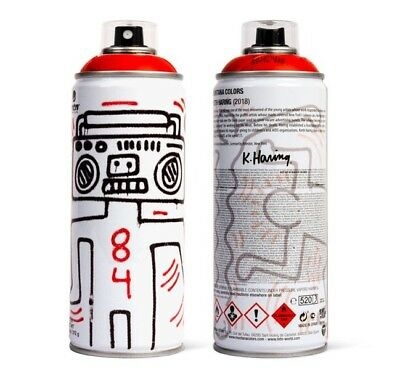 KEITH HARING Edition Spray Can Montana Paint Warhol Kaws Banksy Retna Obey Hirst