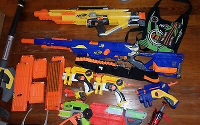 Nerf Gun Lot Of 10+
