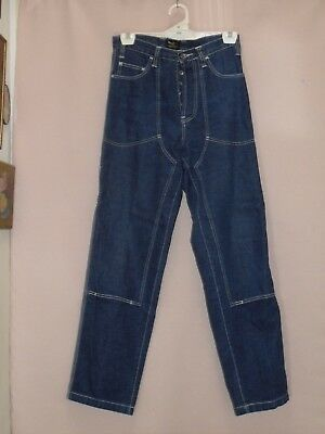 1980's Vintage High Waisted English Denim Jeans.