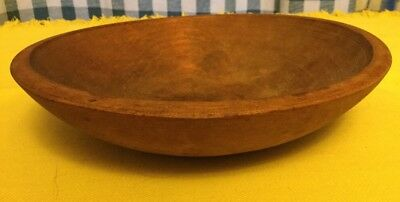 "^^^9"" Antique Munising Wooden Bowl^^^"