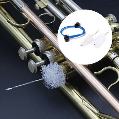 Trumpet Maintenance Cleaning Care Kit Mouthpiece Brushes Flexible Rope Brush