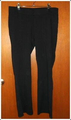 Rockmans Black Stretch Pull On  Pants Size XL