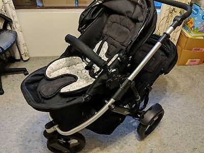 Steelcraft Strider Plus 3 Double Seats 3 Wheeler Baby Pram Stroller Pick Up Only