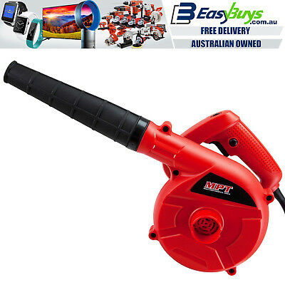 Electric Blower Portable PRO 6 Speed 600W Hi-Torque Powerful MPT Quality Motor