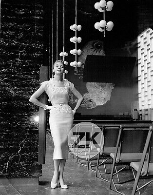 DEXTER VAUGHAN Mode MANNEQUIN Dior FASHION Australie Norman A. IKIN Photo 1950s