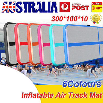 GoFun AirTrack Inflatable Air Track Tumbling Floor Home Gymnastics Yoga Mat GYM