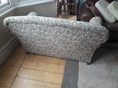 Attractive Antique Victorian Chesterfield Drop End Sofa Couch Settee