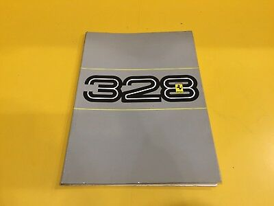 Ferrari 328 - Owner's Manual #376/86