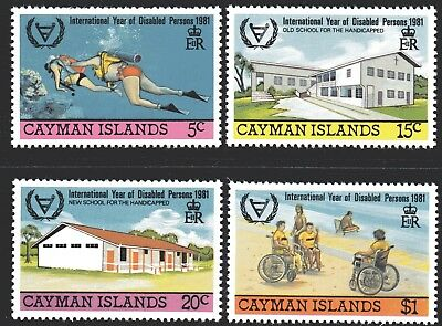 Cayman Islands 1981 Year For Disabled Persons set of 4 MUH