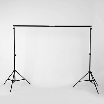 Set Trépied Toile Fond Backdrop Support Photographie Studio Photo Stand 2M x 3M