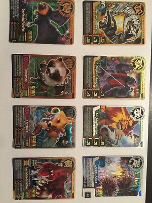 Animal Kaiser Mixed Rare Starter Set 8 Lot