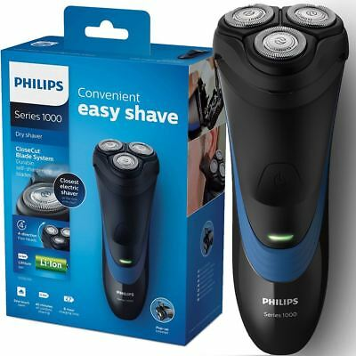 Philips Series 1000 Dry Mens Electric Shaver Rechargeable with Trimmer, S1510/04