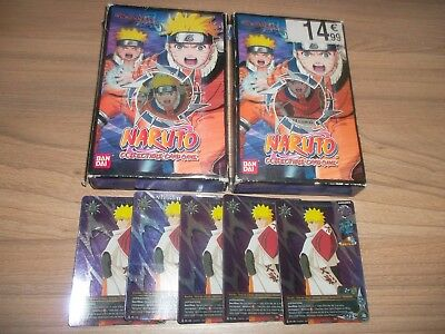 Lot 2 Starter Pack Naruto Storm Generations Deck Cards Game + 5 Cartes Rare