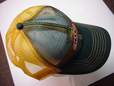 "DEKALB SEED  ""GREEN & YELLOW""- Check pictures-FULL MESH CAP HAT ORIGINAL"