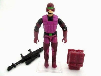 Action Force GI Joe Cobra ☆ SAW VIPER  ☆ Figure Rare Hasbro Vintage nr 100% 1990