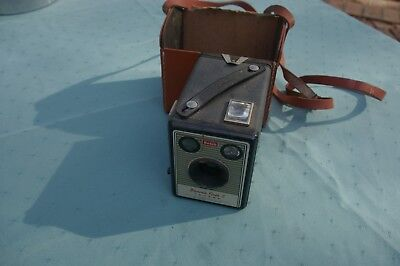 Kodak Box Brownie Camera With Case