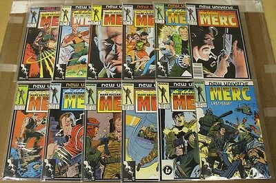 Mark Hazzard: Merc (1986 Marvel) #1-12 Complete Set High Grade