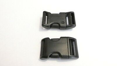 25mm  Curved Side Release Buckle,National Moldings Duraflex, 1, 2 or 10