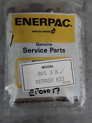 Genuine Enerpac Service Repair Seal Kit Directional Valve BVS 3 K *