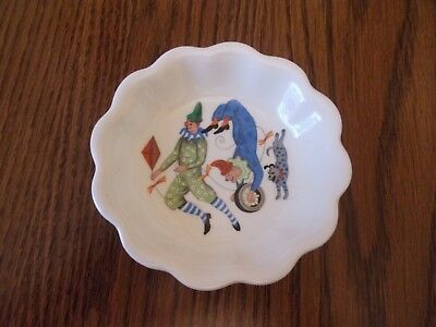 Vintage Wedgwood China Peter Wall  Childs Big Top Circus Tiger Side Bowl  #2