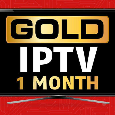 IPTV GOLD SUBSCRIPTION 1 Month Package--Best For Indian,arabic,english,many  More