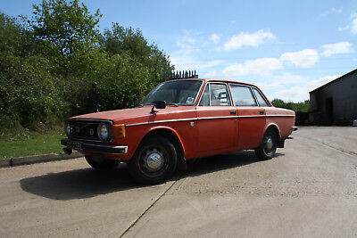 VOLVO 144 Historic Car Tax 10 Month MOT DE Luxe 1973 147k Leather OYC 735L