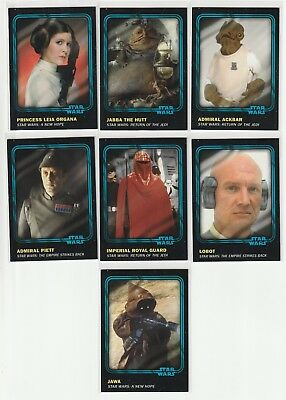 2016 Topps Star Wars Card Trader Bounty, Blue Parallel Lot