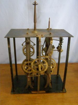 Old movement of comtoise for parts, complete mechanism