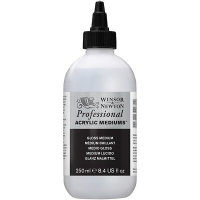Winsor & Newton Artists' Professional Acrylic Painting Gloss Medium