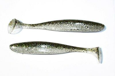 "Keitech Easy Shiner 2"", 3"", 4"", 5"" Color 416-Silver Flash Minnow, Swimbait, Shad"