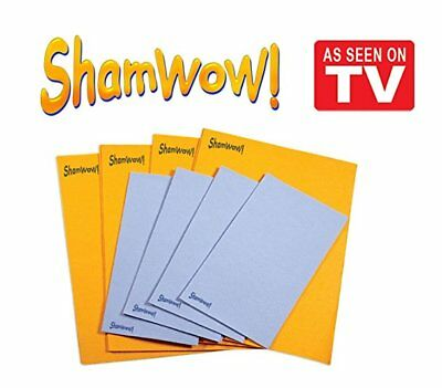 Shamwow Super Absorbent Towels- Original Sham-wow from Germany(Not From China!)