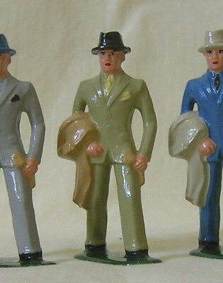 Businessman/Commuter, Standard Gauge figure for Ives, Dorfan, American Flyer