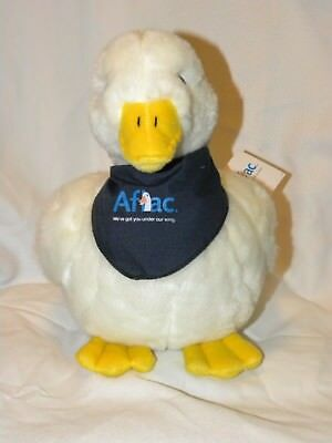 NWT Aflac 11 Inch Plush Talking Duck Bank