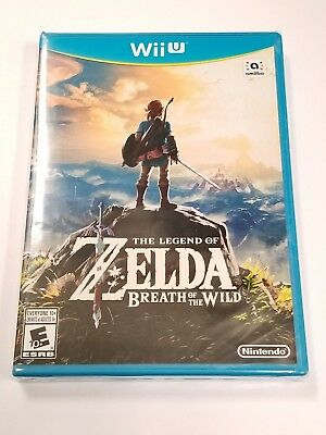 The Legend of Zelda Breath of the Wild for Nintendo Wii U *BRAND NEW & SEALED*