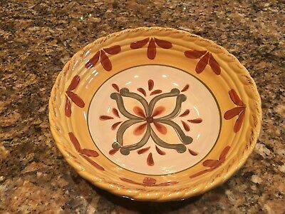 Artimino Tuscan Countryside Sienna Yellow 8  Bowl NWOT & TUSCAN COUNTRYSIDE Sienna Yellow By Artimino Decorative Plate Italy ...
